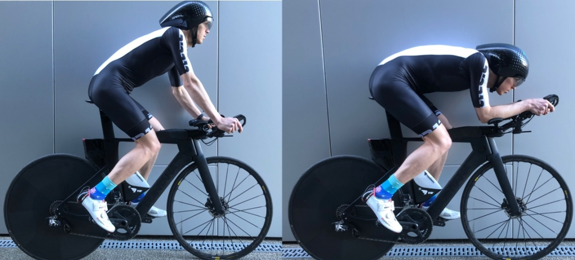 Aero position VS sitting up – what is the time loss?