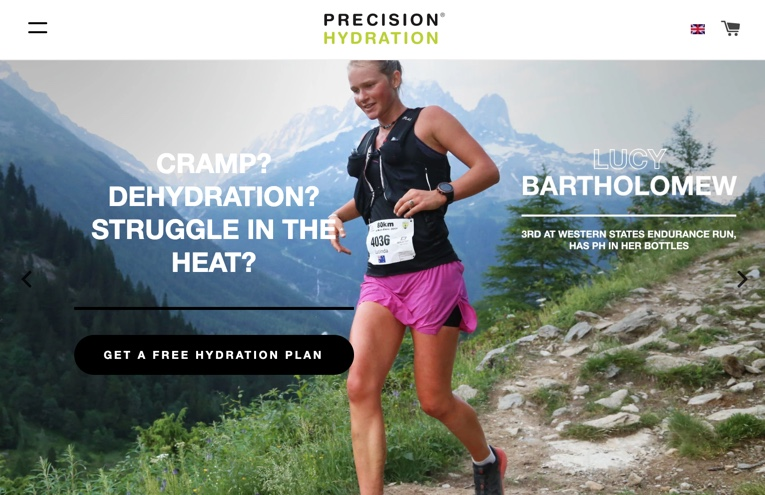 Teaming up with PrecisionHydration